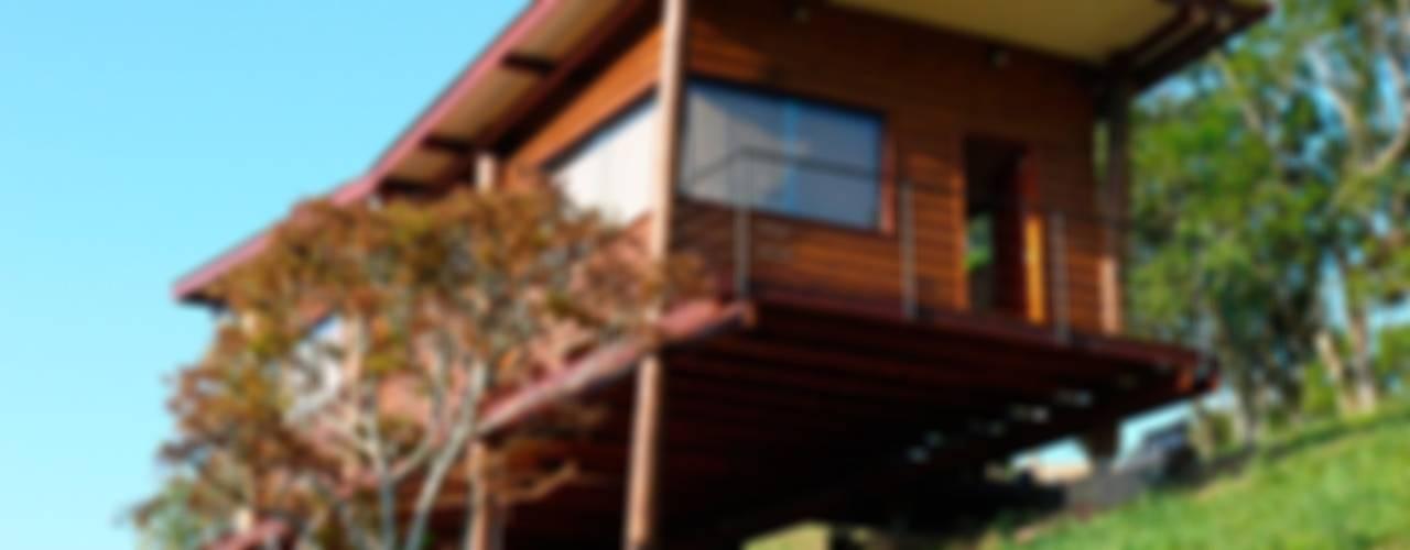Casas de estilo rústico de Cabana Arquitetos Rústico