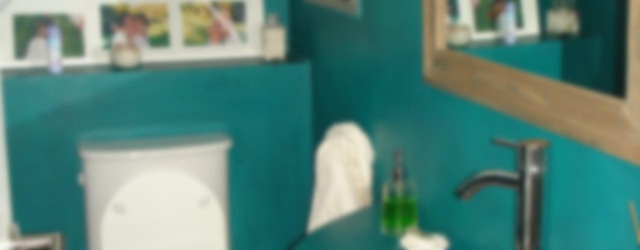 Casa en Barrio Cerrado: Baños de estilo  por Fainzilber Arqts.,Rústico