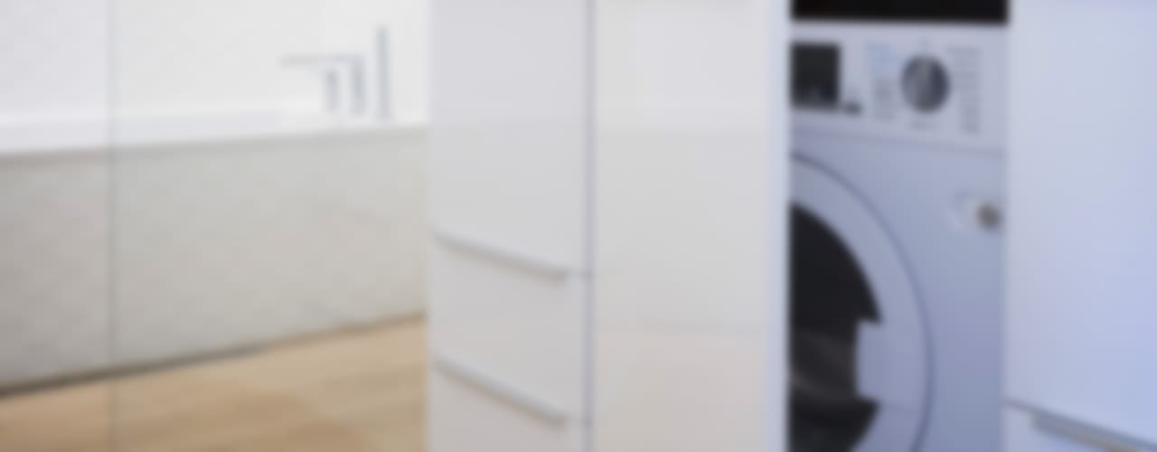 APPART'HOTEL Salle de bain moderne par MELANIE LALLEMAND ARCHITECTURES Moderne