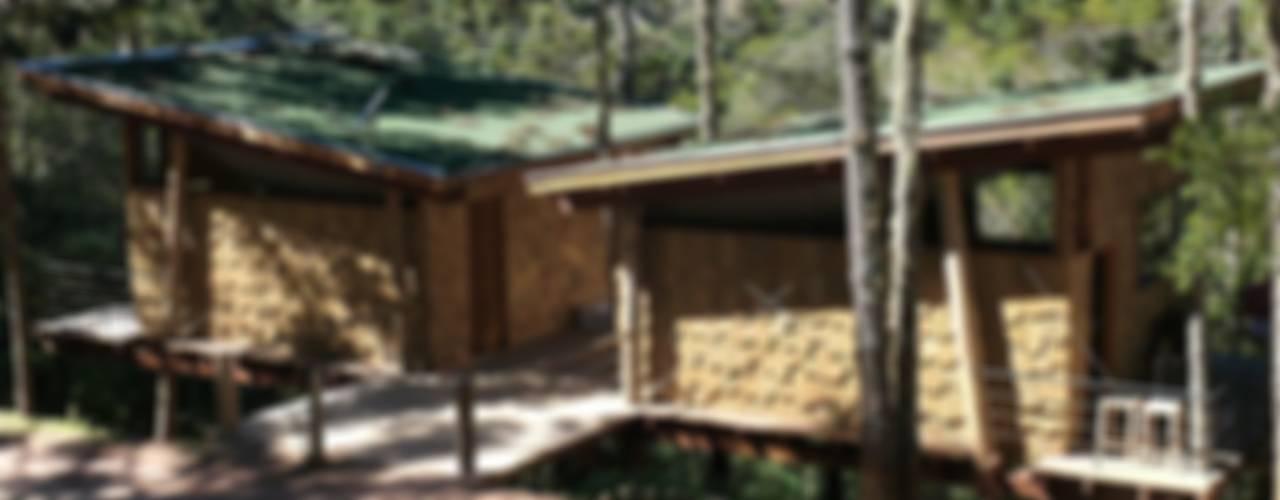 Casa Dois Casais: Casas  por Cabana Arquitetos
