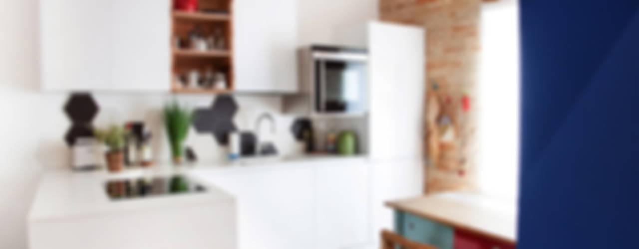 Ossigeno Architettura Cocinas de estilo mediterráneo