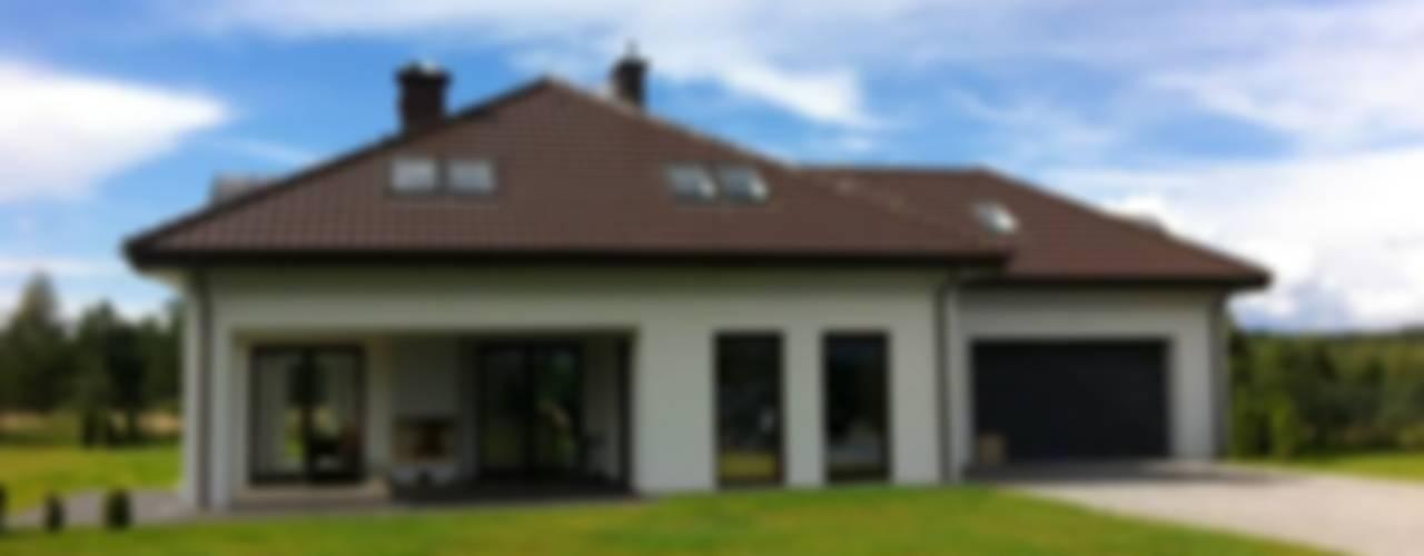 Houses by Pracownia Projektowa Wioleta Stanisławska
