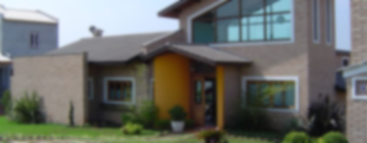 Projekty,  Domy zaprojektowane przez GATE Arquitetos Associados
