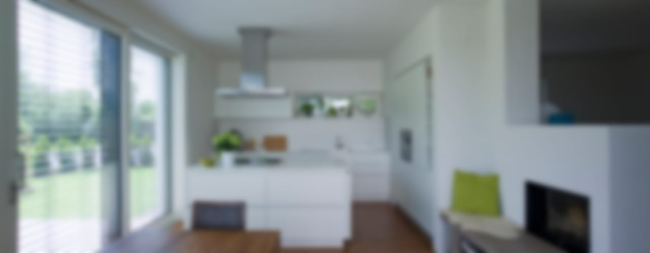 Nowoczesna kuchnia od Hofmann Keicher Ring Architekten Nowoczesny
