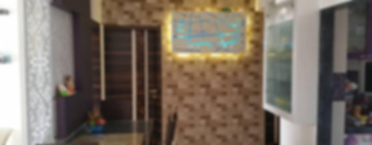 Pasillos, vestíbulos y escaleras modernos de Alaya D'decor Moderno
