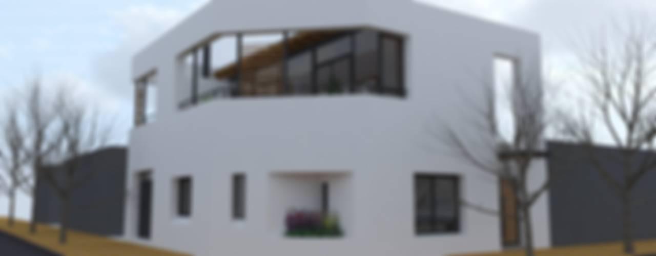 Casa Pasaje Rafael: Casas de estilo  por UFV 72 Arquitectura Integral