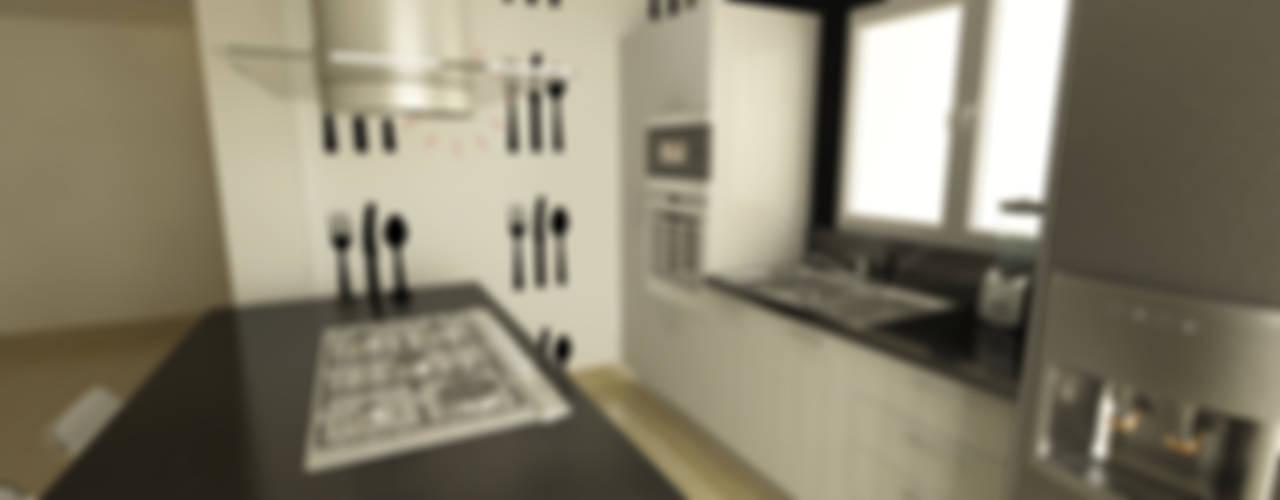 Cocina Quinta Chabella OPFA Diseños y Arquitectura Cocinas de estilo minimalista