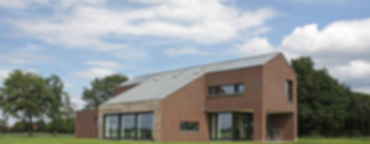 Woonhuis Stramproy Landelijke huizen van BenW architecten Landelijk