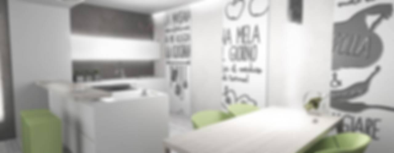 LTAB/LAB STUDIO Cocinas de estilo moderno