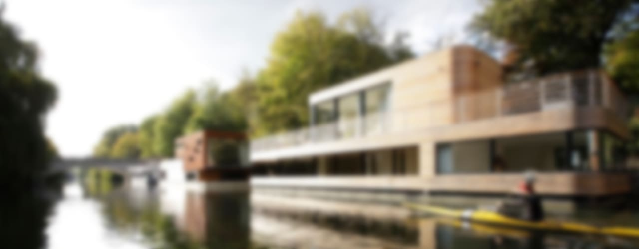 Casas modernas por Rost.Niderehe Architekten I Ingenieure Moderno