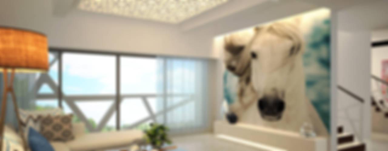 غرفة المعيشة تنفيذ AIS Designs