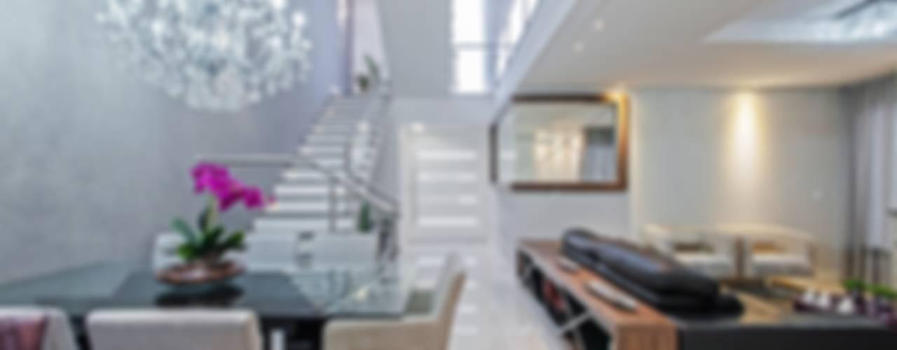 Casa 55 Salas de jantar modernas por Patrícia Azoni Arquitetura + Arte & Design Moderno