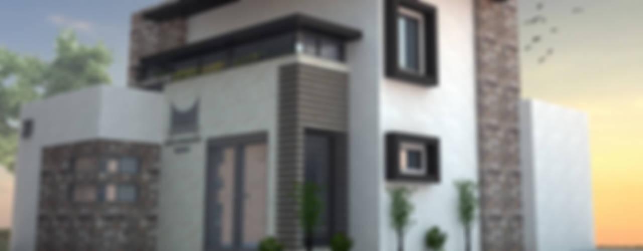 16 fachadas de casas modernas para inspirarse ya for Fachadas modernas para oficinas