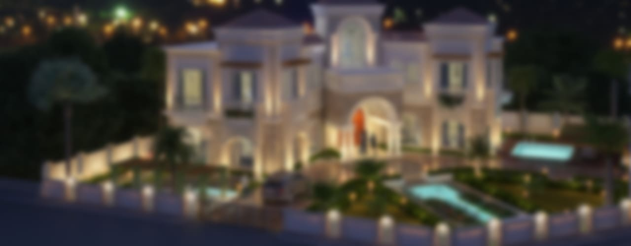 Villa At Dubai:  Houses by SDA designs,