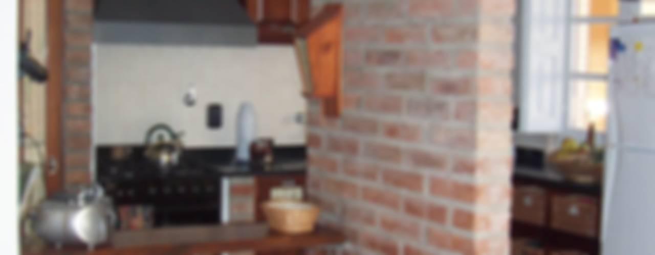 Cocinas de estilo rústico de milena oitana Rústico