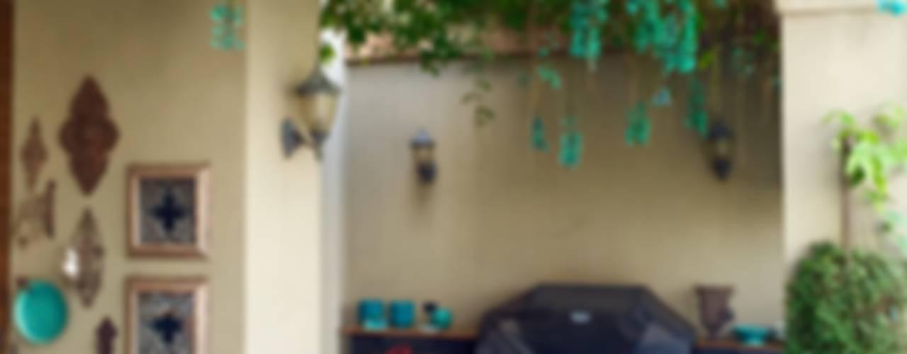 Balcones y terrazas mediterráneos de FERNANDO ROMA . estudioROMA Mediterráneo