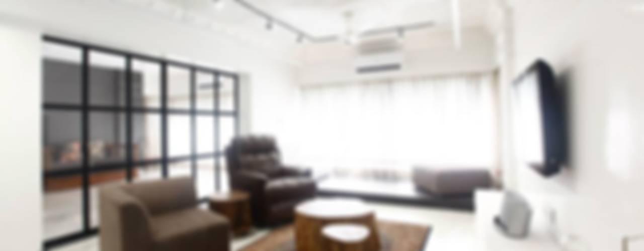 Khar Residence Modern living room by SwitchOver Studio Modern
