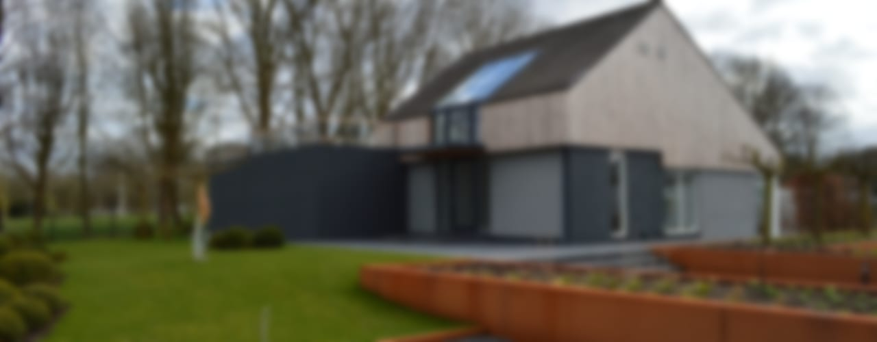 Casas de estilo moderno de STROOM architecten Moderno