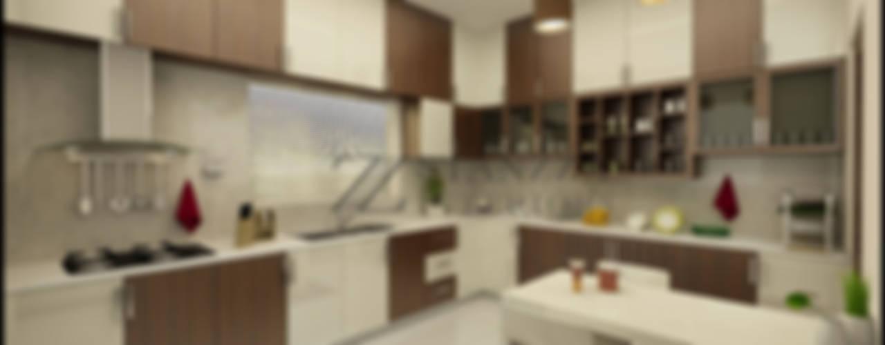 Nizar, Manilala: modern Kitchen by stanzza