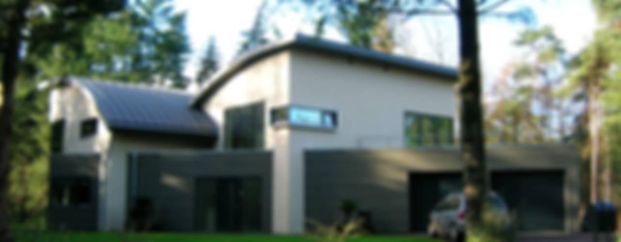 Bosvilla:  Huizen door ir. G. van der Veen Architect BNA,