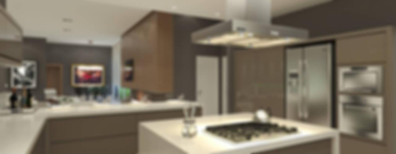 Cocinas de estilo moderno por Horta e Vello Arquitetura e Interiores