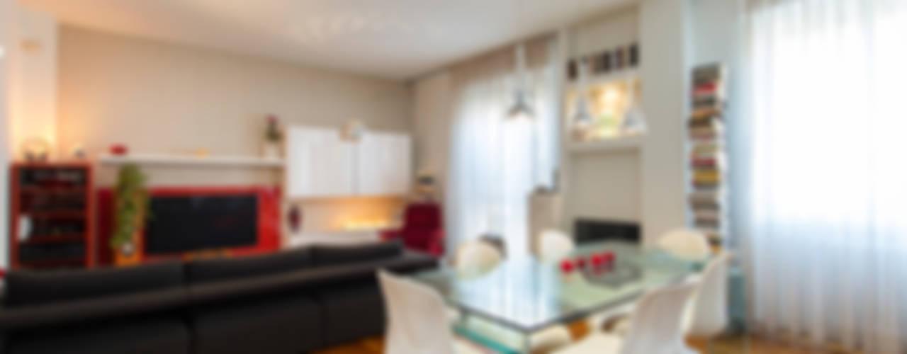 Appartamento open space Soggiorno moderno di Fabio Carria Moderno
