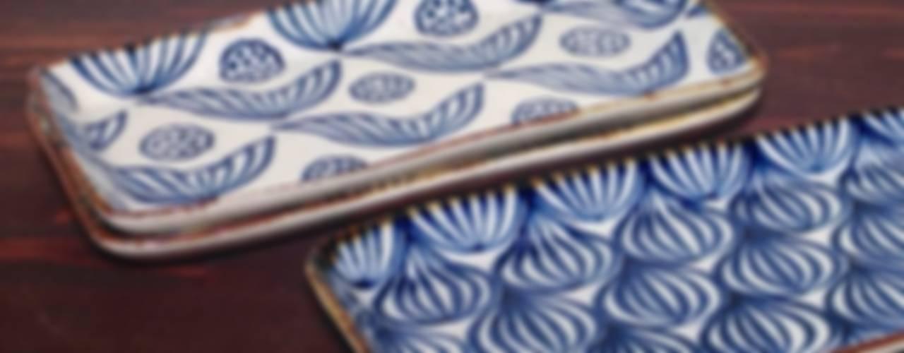 四角いお皿: キカキカクが手掛けた現代のです。,モダン