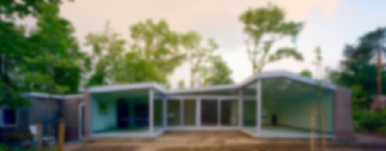 Casas de estilo  por JMW architecten,