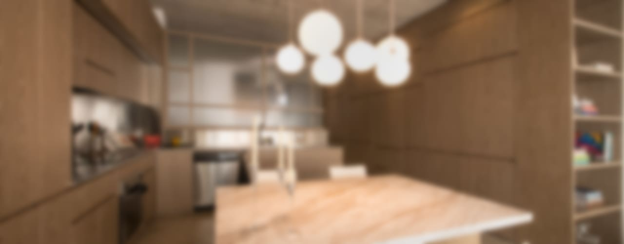Cucina moderna di MEMA Arquitectos Moderno