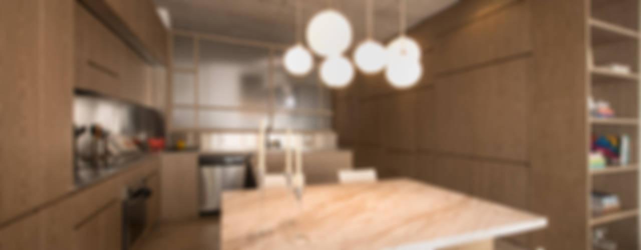 Apartamento Rubiano: Cocinas de estilo  por MEMA Arquitectos, Moderno