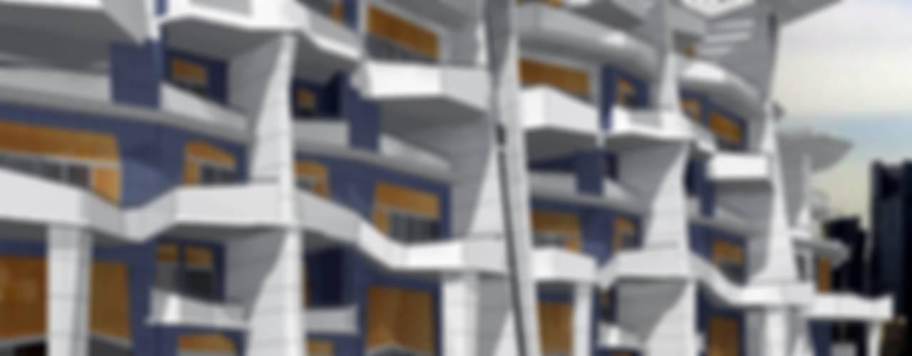 Urban Flats Modern houses by organic Arts+Architecture Modern