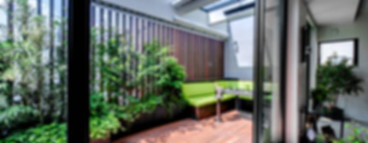 Jardin de style  par TERAJIMA ARCHITECTS,