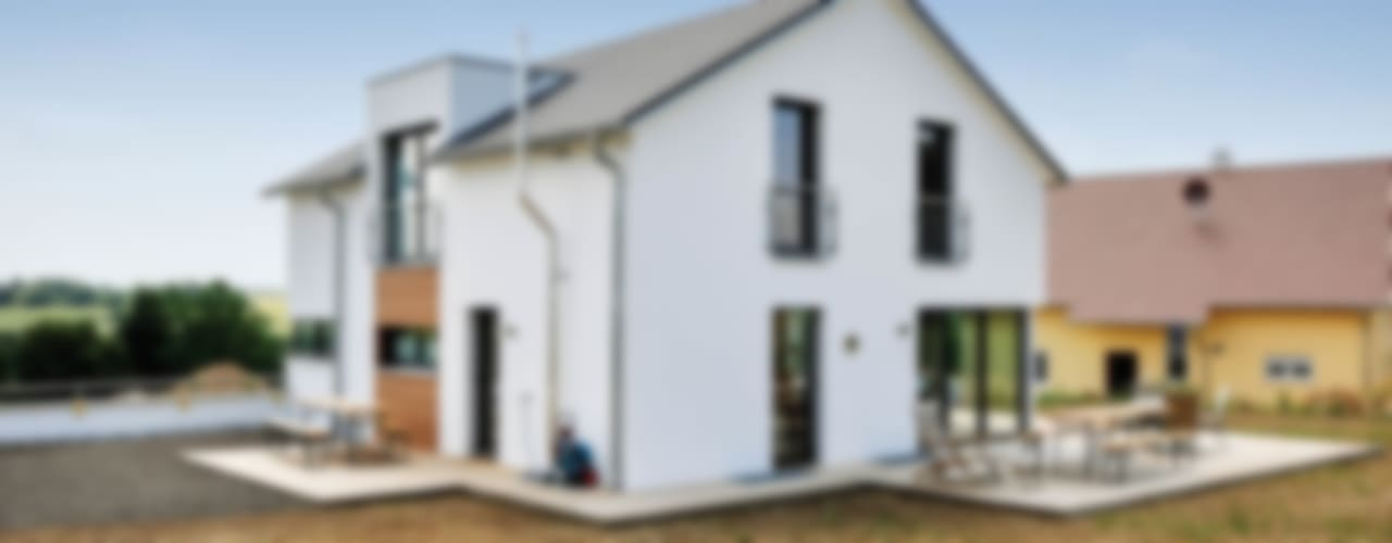 Projekty,  Domy zaprojektowane przez Hauptvogel & Schütt Planungsgruppe, Nowoczesny