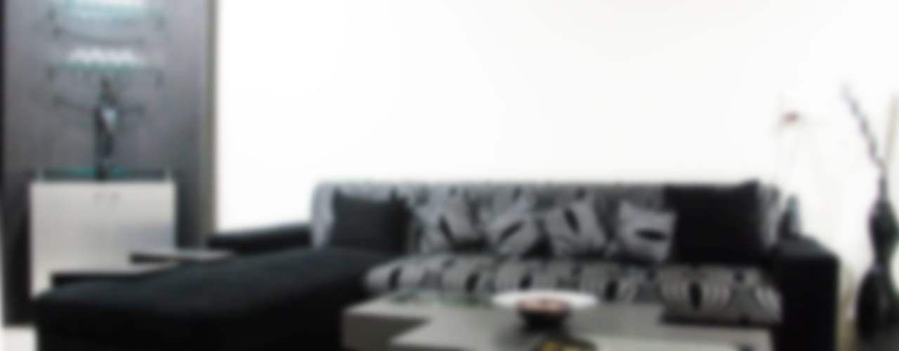 Subtle Harmony:  Living room by Sneha Samtani I Interior Design.