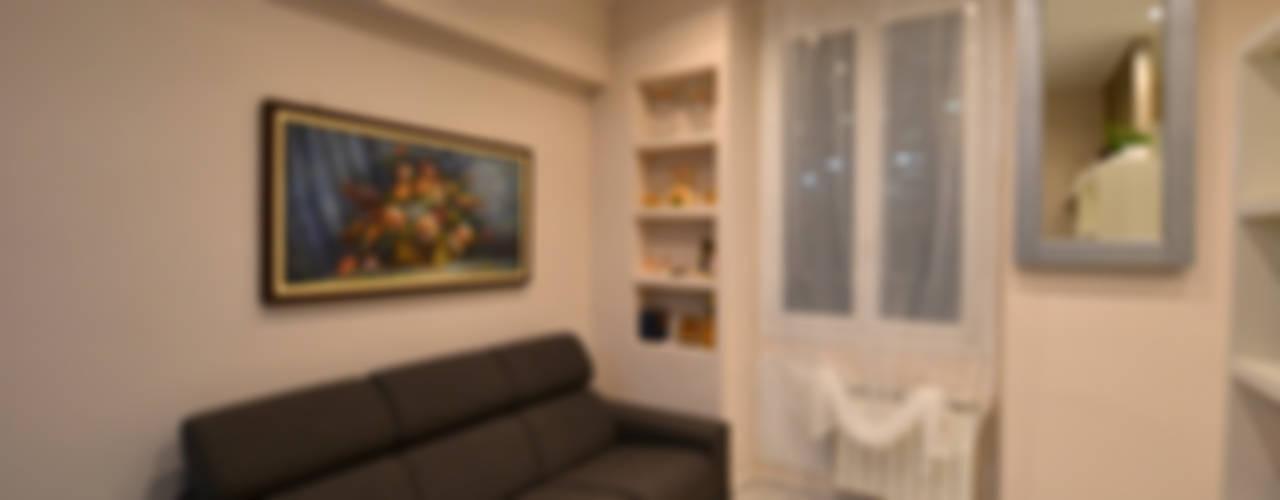 غرفة المعيشة تنفيذ ARCHITETTO LAURA LISBO, حداثي