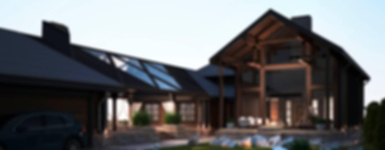 Проект дома в американском стиле / House in American style Дома в классическом стиле от Way-Project Architecture & Design Классический