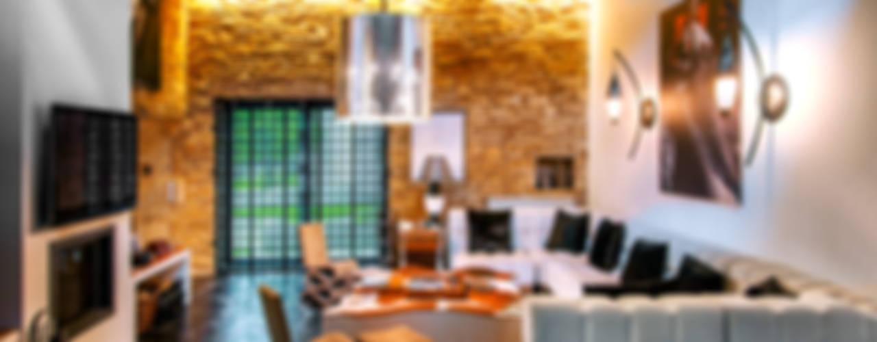 Salas de estilo moderno de Belén Sueiro Moderno