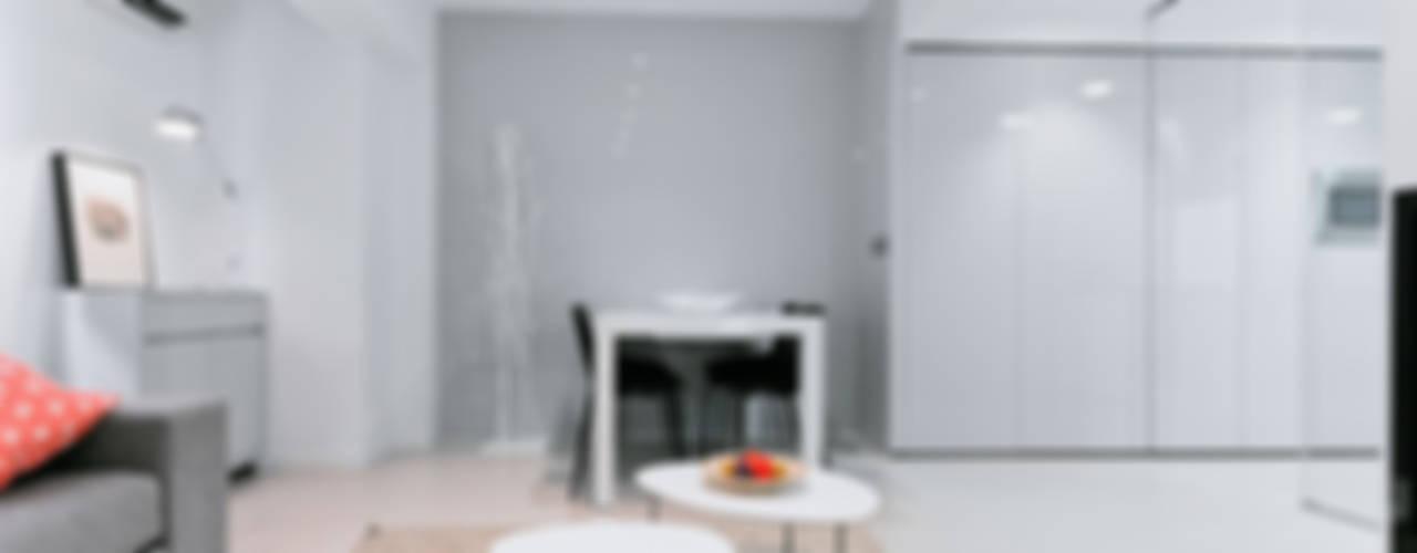 Casa Manises - Una vivienda para la vida moderna Comedores de estilo minimalista de Chiralt Arquitectos Minimalista