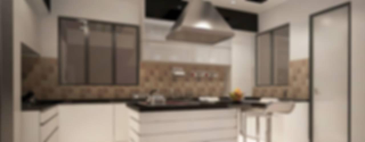 4 bedroom Villa at Prestige Glenwood:  Kitchen by ACE INTERIORS
