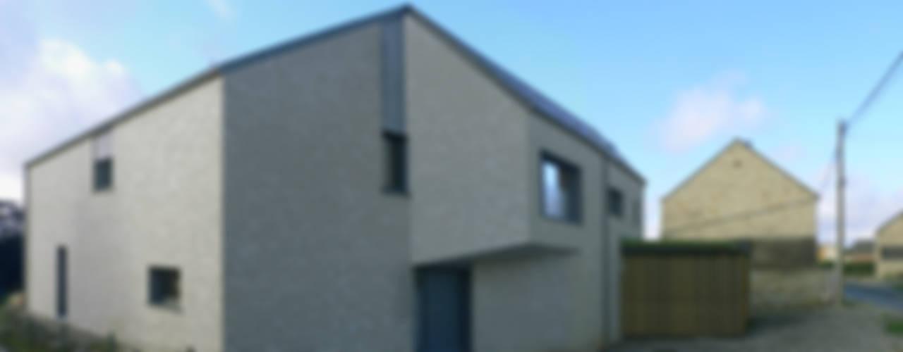 Maison W Maisons modernes par corbacreative sprl Moderne