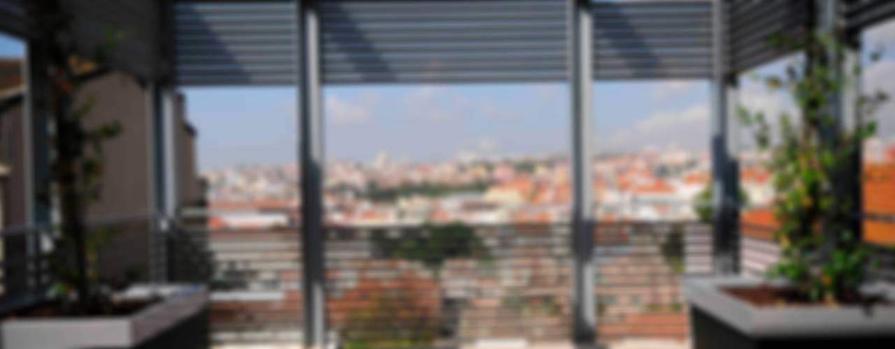 CONVENTO DOS INGLESINHOS: Terraços  por armazem de arquitectura