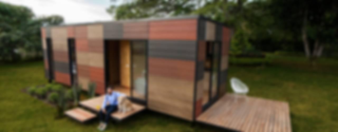 Casas de estilo  por COLECTIVO CREATIVO, Moderno