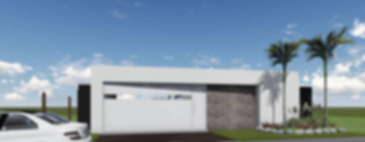 Proyecto Quincho en Las Rosas: Portones de garage de estilo  por ARBOL Arquitectos