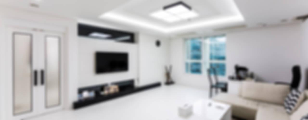 소공동 남산롯데캐슬 47평 dual design 모던스타일 거실
