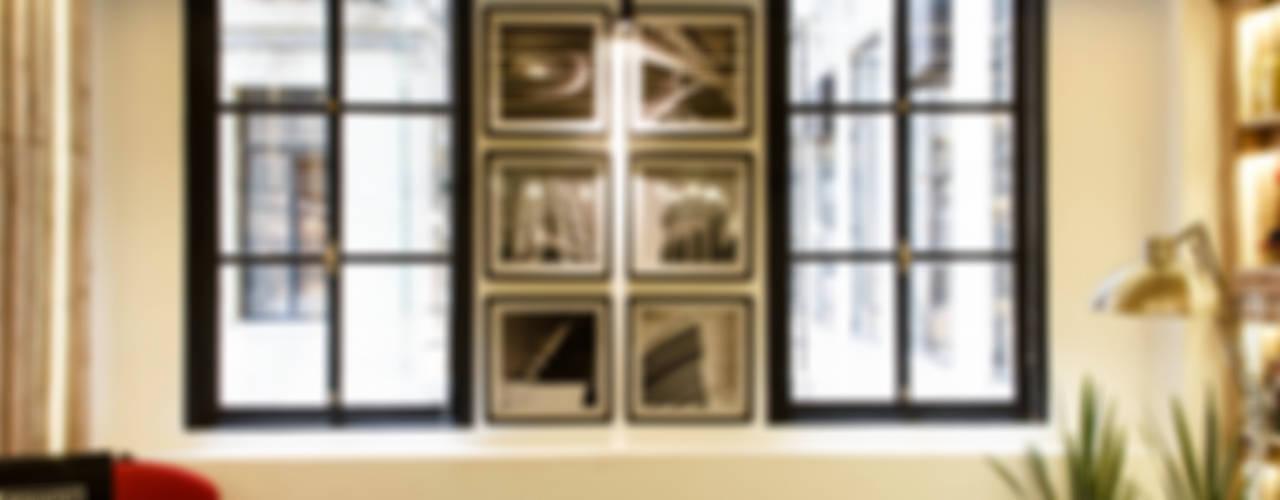 Home Office | SUSTENTABILIZANDO EL  DEBER Y EL PLACER: Ventanas de estilo  por G7 Grupo Creativo,Industrial
