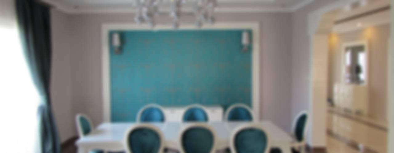GARDEN PREMIUM VILLALARI - MOZAMBİK Eklektik Yemek Odası TELOS İÇ MİMARLIK VE TASARIM Eklektik