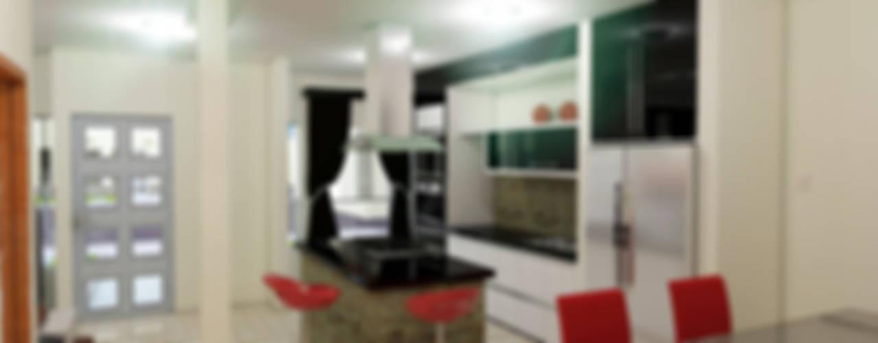 Proyecto Villa Saamar, Nueva Esparta, Venezuela.: Cocinas de estilo  por Arq. Susan W. Jhayde