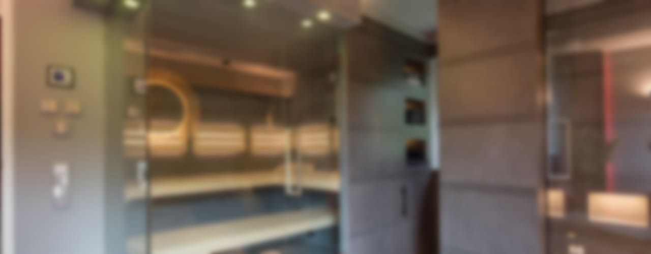Edel und kontrastreich: Privatsauna Moderner Spa von corso sauna manufaktur gmbh Modern