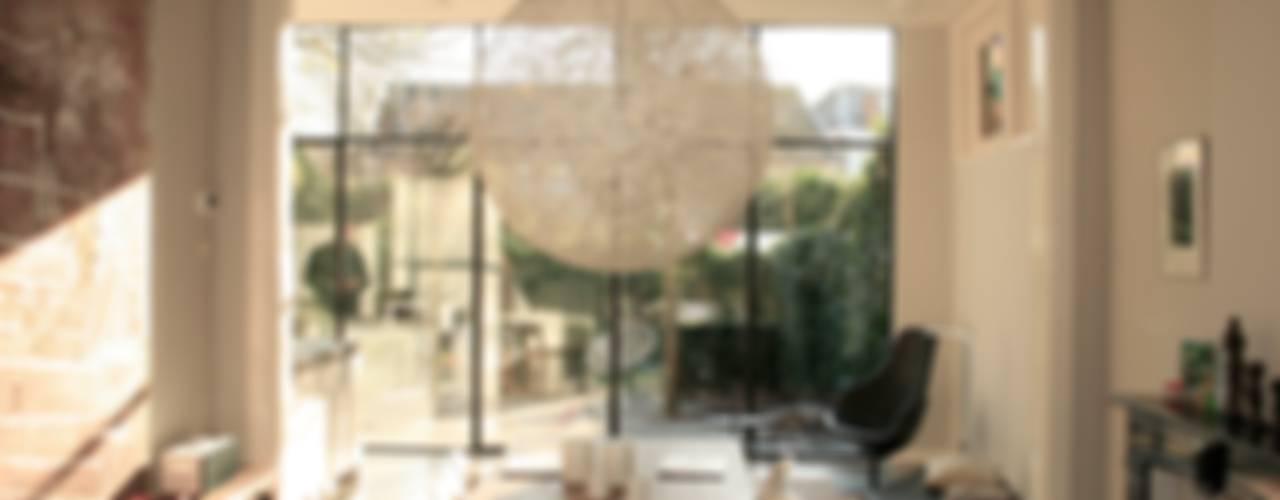 ddp-architectuur Salle à manger minimaliste Métal Noir