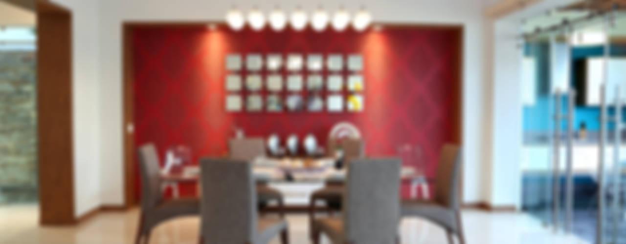 Comedores de estilo moderno de arketipo-taller de arquitectura Moderno